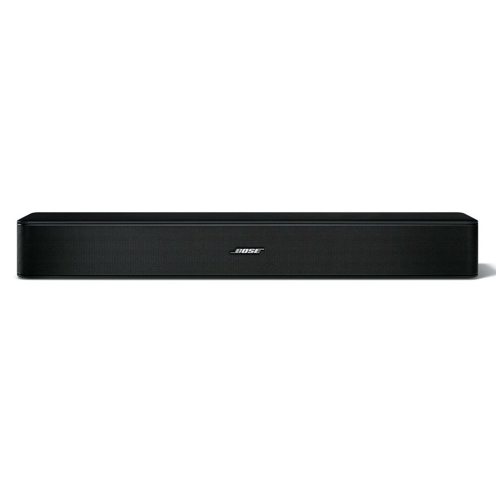 new bose solo 5 sound home theatre system tv wireless soundbar bluetooth remote ebay. Black Bedroom Furniture Sets. Home Design Ideas