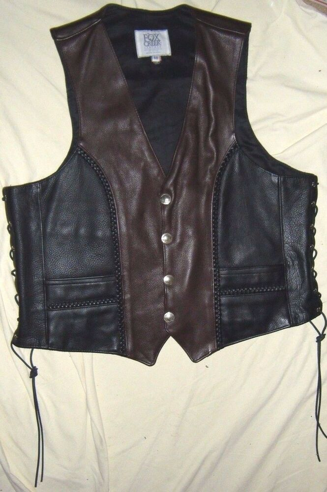 fox creek black personals Find great deals on ebay for fox creek leather in men's coats and jackets   fox creek men's black leather classic motorcycle jacket 1 biker harley size 52.