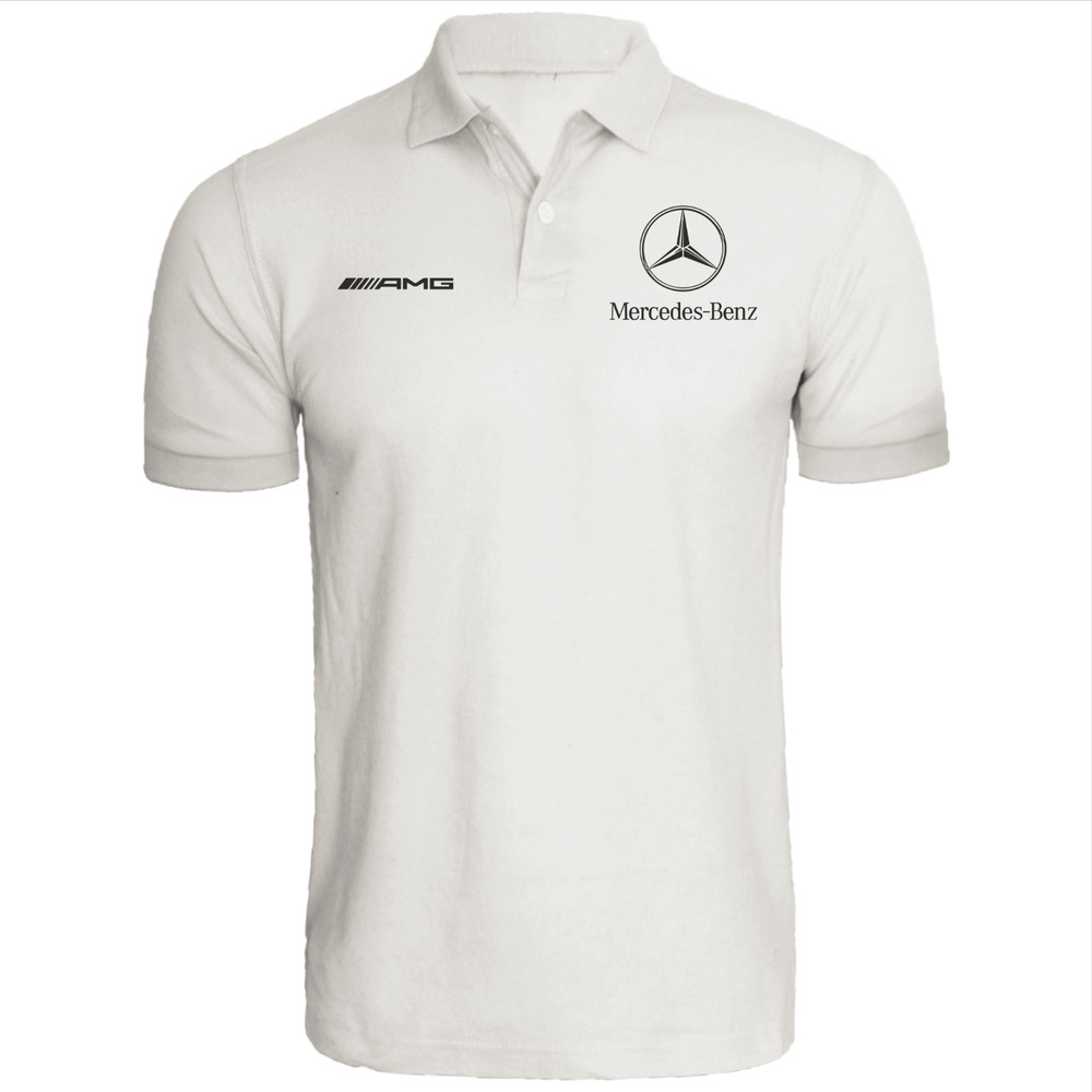 f656596aff7 Details about Mercedes Benz Polo shirt   AMG   automotive   racing   DTM    QUALITY   F1