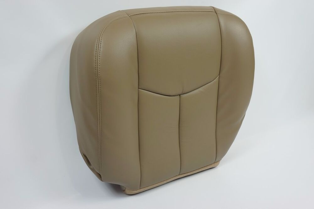 2003 2004 2005 2006 gmc sierra cevey silverado avalanche bottom seat cover tan ebay. Black Bedroom Furniture Sets. Home Design Ideas