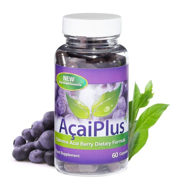 Acai Berry Plus Green Tea Weight Loss Pills 60 Capsules Evolution Slimming