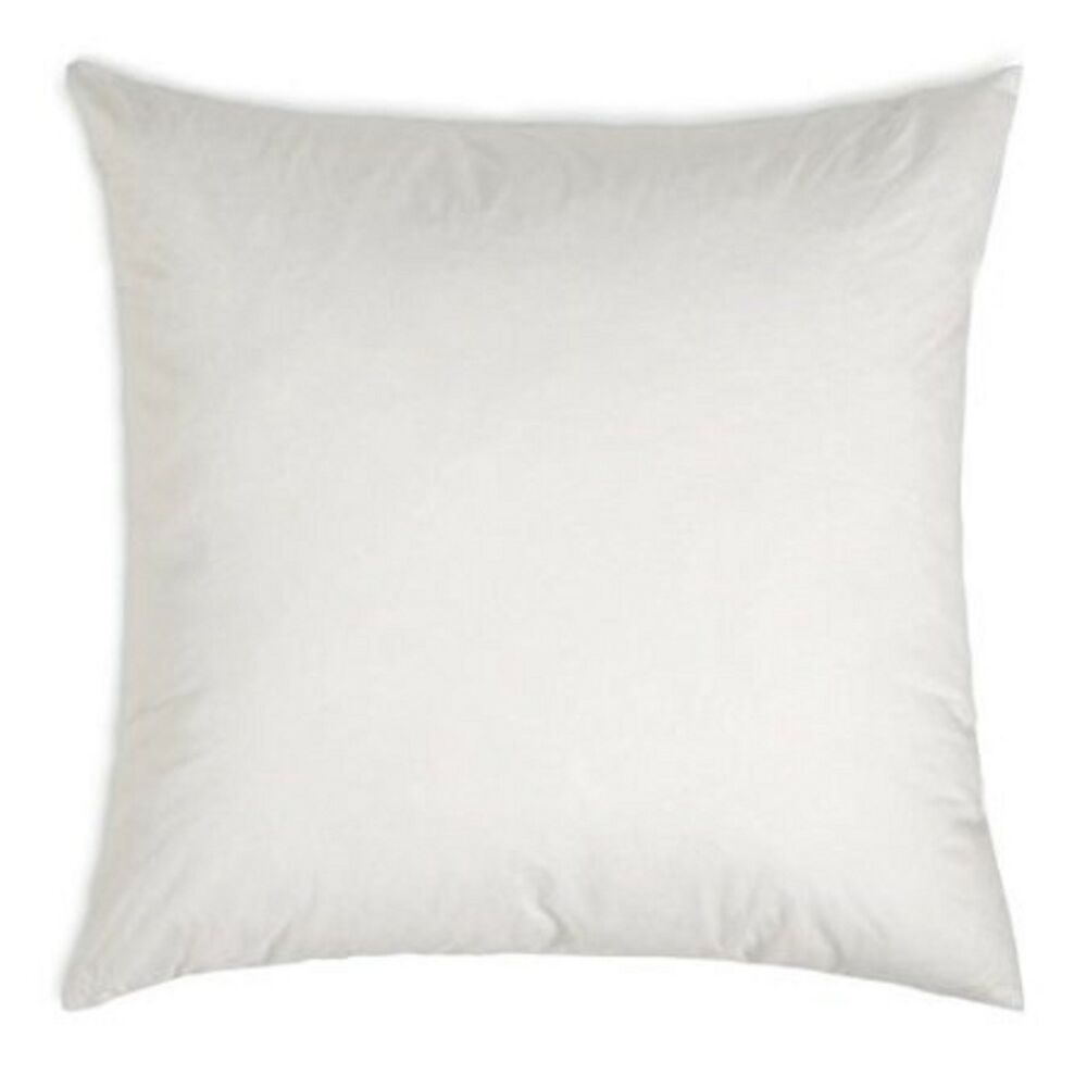 18 x 18 square polyester cotton pillow form insert ebay. Black Bedroom Furniture Sets. Home Design Ideas