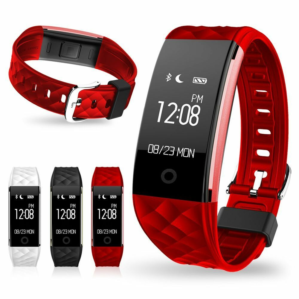 Heart Rate +Sports Activity Smart Watch Sleep Pedometer Bracelet Tracker Fitness | eBay