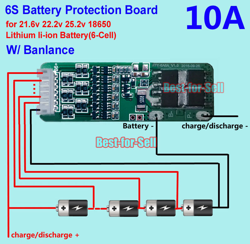 connecting a charge only bms esk8 electronics electric rh electric skateboard builders BMS Heritage 150 Wiring-Diagram Apc Wiring Diagram