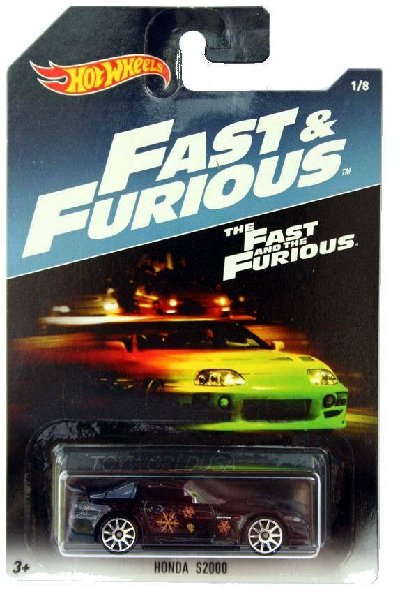 2017 hot wheels fast furious 1 honda s2000 the fast and. Black Bedroom Furniture Sets. Home Design Ideas