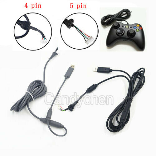 usb 4pin line cord cable breakaway adapter for xbox 360. Black Bedroom Furniture Sets. Home Design Ideas