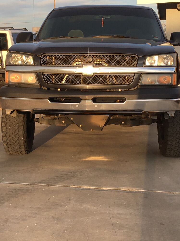 03 Chevy Front Bumpers : Chevy silverado front low profile prerunner