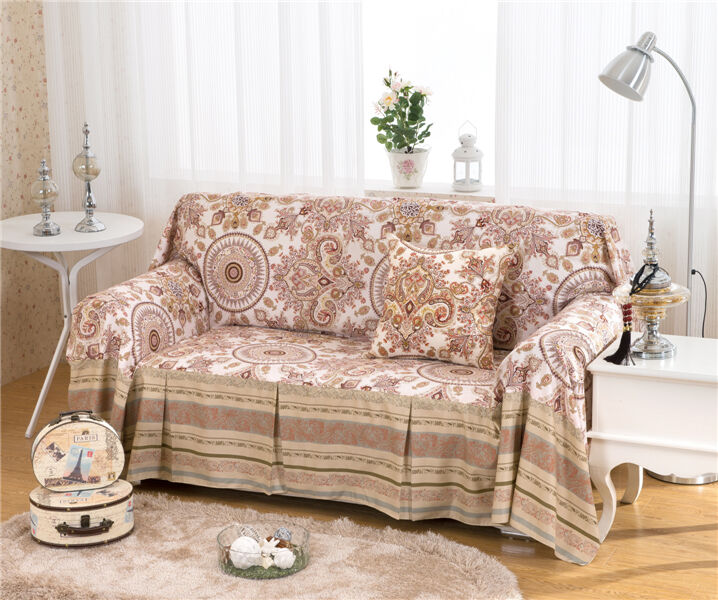 Treasure Linen Blend SlipCover Sofa Cover OusL Protector  : s l1000 from www.ebay.com size 718 x 600 jpeg 101kB