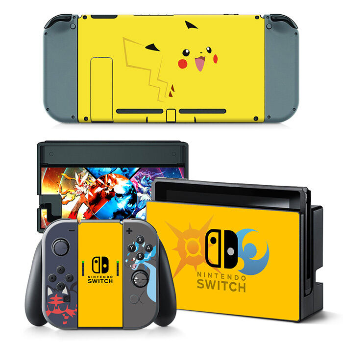 Nintendo Switch Skin Sticker Decal Cover Vinyl Anime