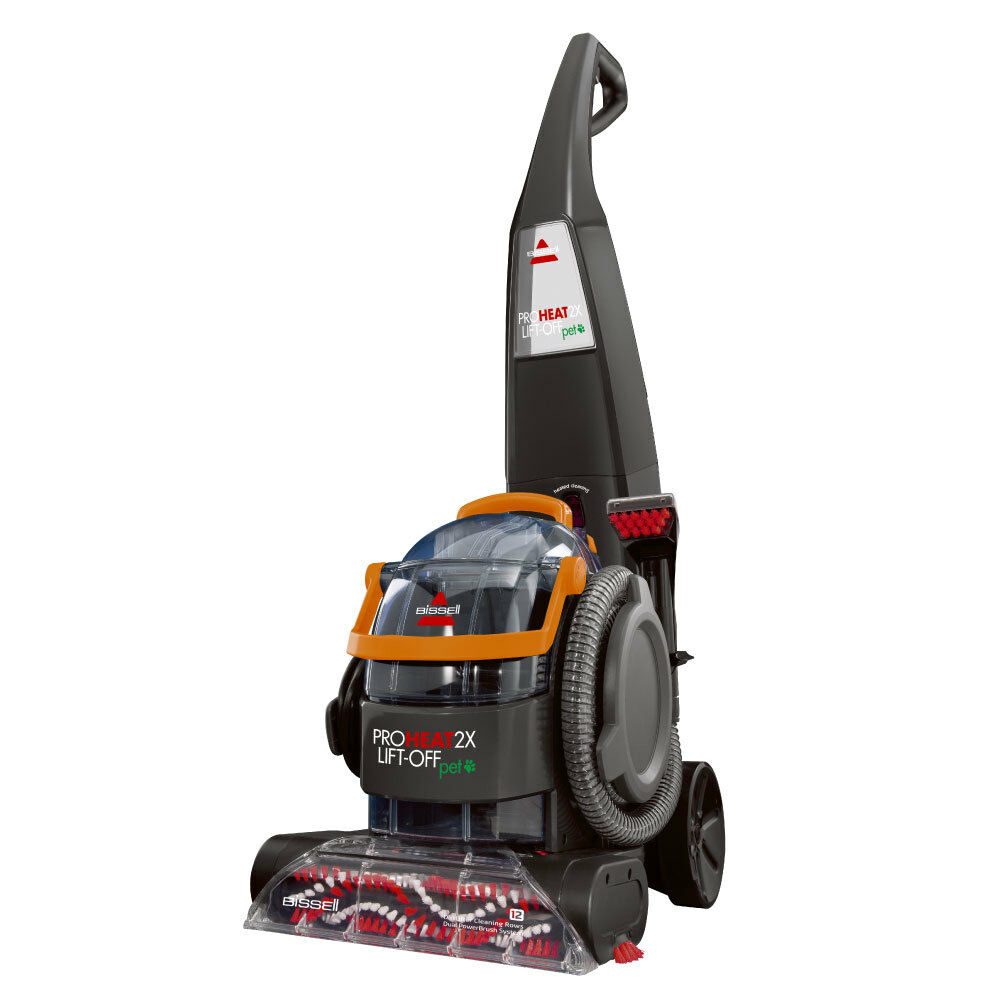 bissell pet carpet cleaner bissell proheat 2x lift pet upright amp portable carpet 29225