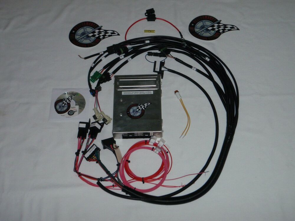 tbi wiring harness kit tbi wiring harness w/ecm fuel injection wire harness sbc ...