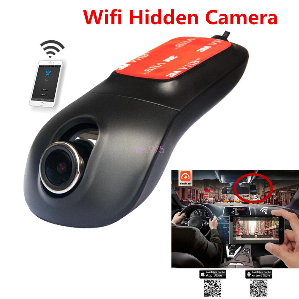 full hd car wifi hidden dvr camera dash cam video recorder. Black Bedroom Furniture Sets. Home Design Ideas