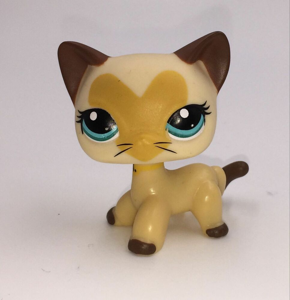 Littlest Pet Shop Short Hair Cat Tan