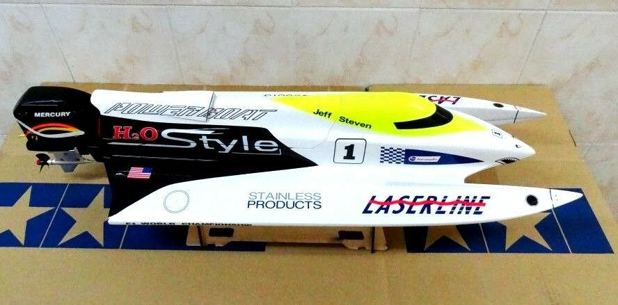 Ebay Boats Florida >> 620mm F1 Tunnel EP Fiberglass OUTBOARD Racing Boat by Dragon Hobby | eBay