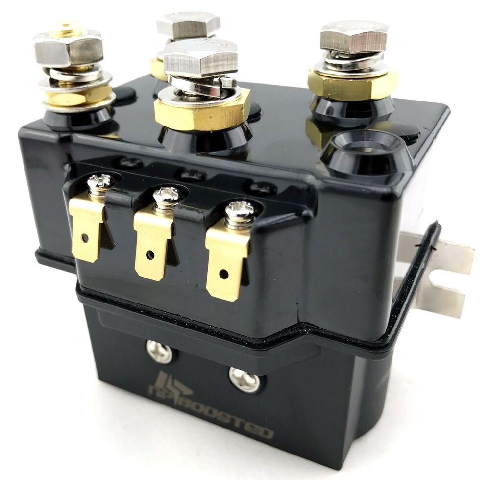 new heavy duty winch relay solenoid 12v 500a 5000lb to. Black Bedroom Furniture Sets. Home Design Ideas