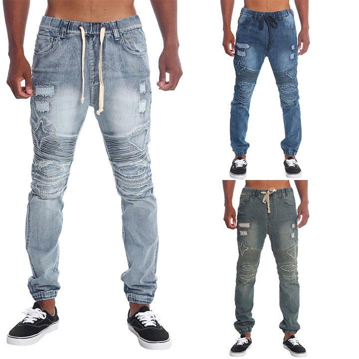 Mens Distressed Shorts Fashion