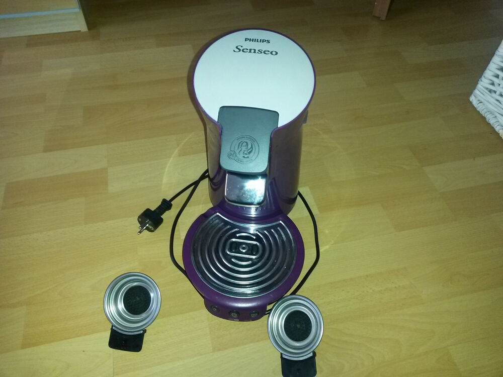 philips senseo kaffeepad maschine type hd 7825 lila ebay. Black Bedroom Furniture Sets. Home Design Ideas