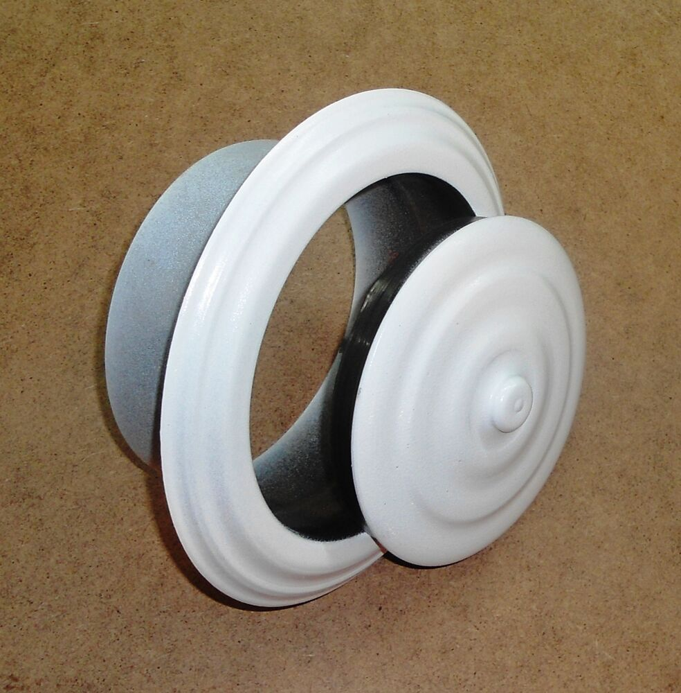 Chimney stove pipe flue hole cover wall rosette collar cap