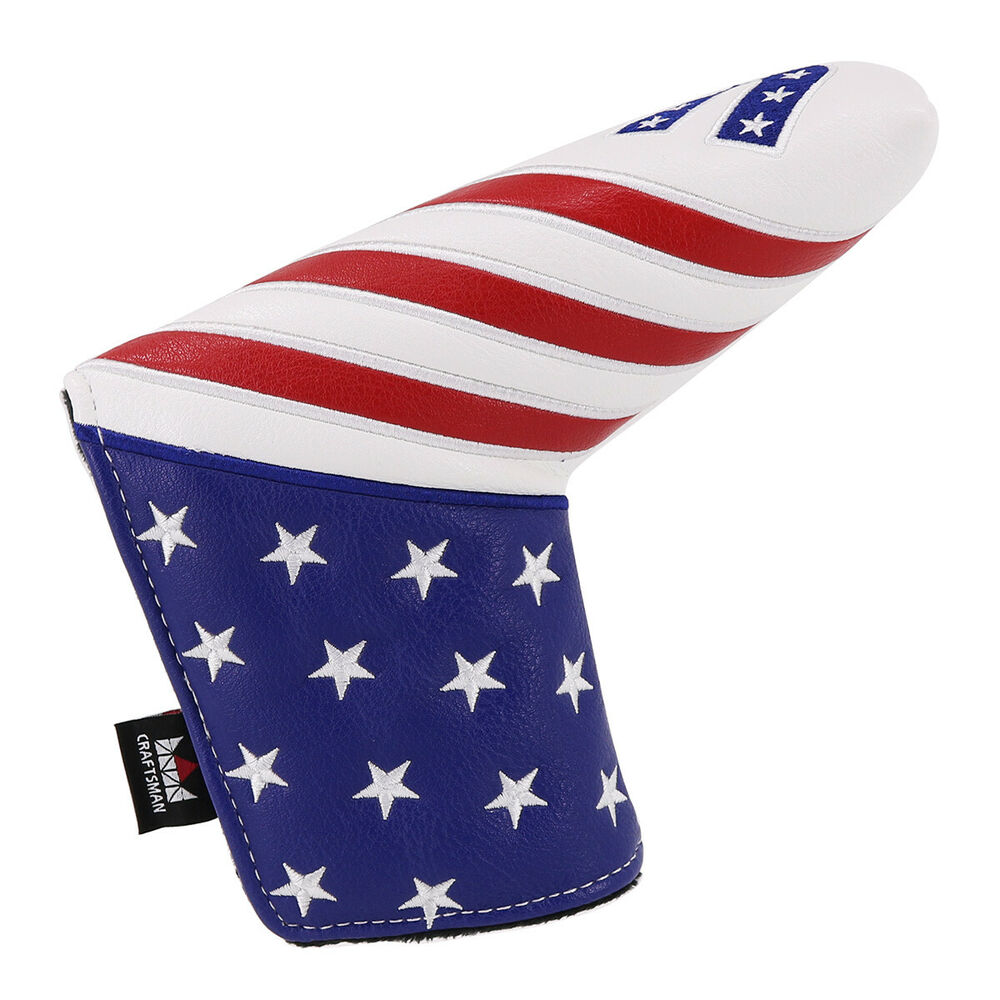 Blade Golf Putter Cover Headcover Magnetic Star Strip