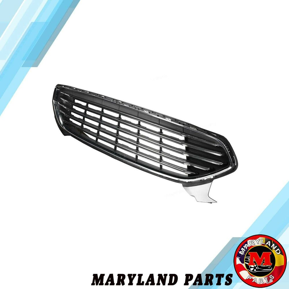 Fits Ford Fusion 2013-2016 Front Bumper Upper Grille