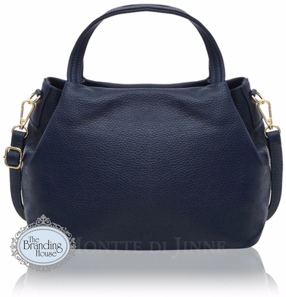 Details about new ladies vera pelle Italian classic womens leather handbag  with shoulder strap 58bc856bcc33d