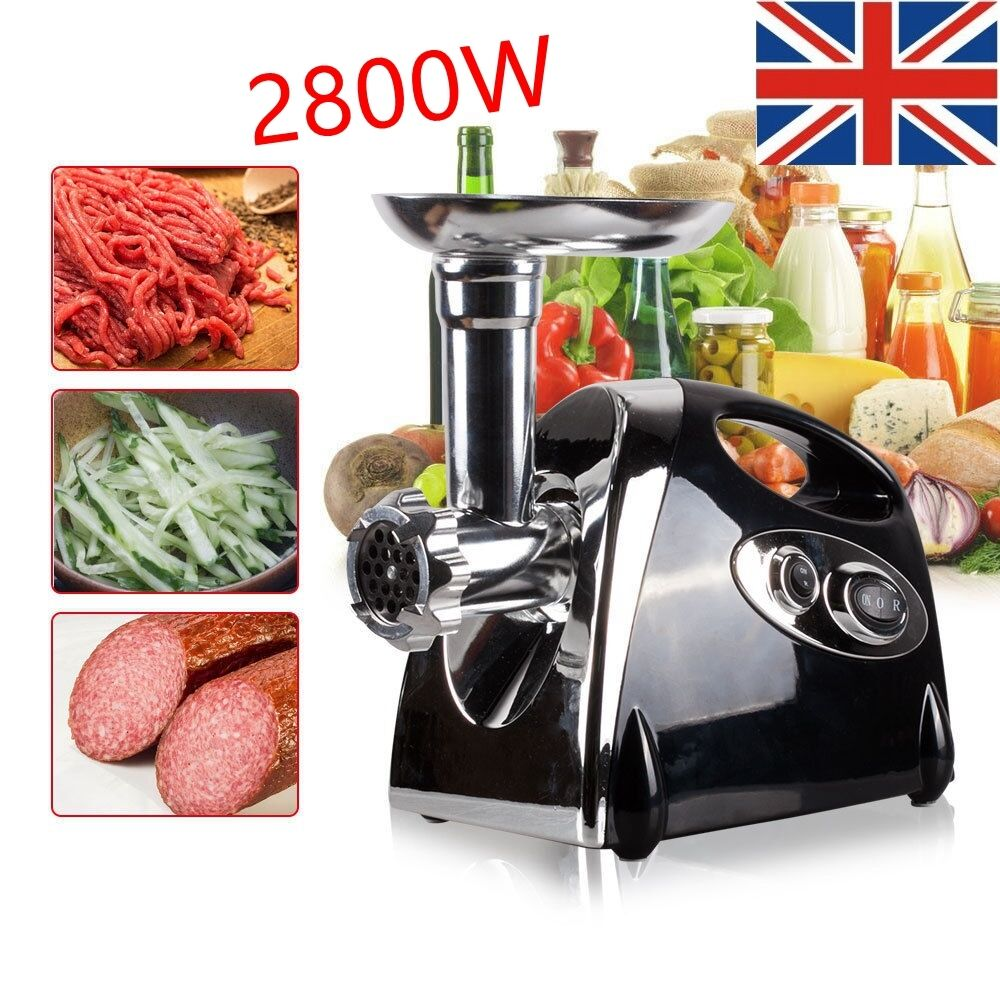 New 2800w Electric Meat Grinder Stainless Steel Sausage