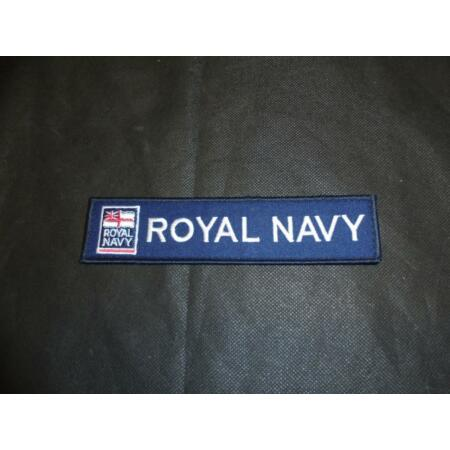 img-NEW British Royal Navy TRF Unit ID Name Badge Working Dress Waterproofs