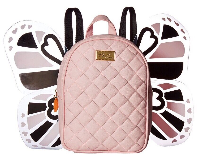 Luv Betsey Johnson Mini Butterfly Backpack Tote Purse