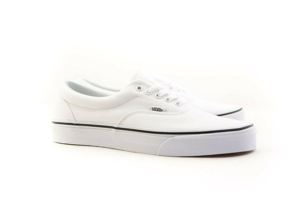 9d45b95e22 Details about Vans Men Era white true white VN0EWZW00