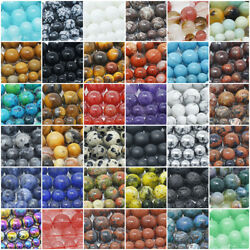 Kyпить Natural Gemstone Beads Round 4mm 6mm 8mm 10mm 12mm 15.5