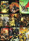 2009 MARVEL X MEN ARCHIVES COVER GALLERY READY FOR ACTION CHASE TRADING CARD SET