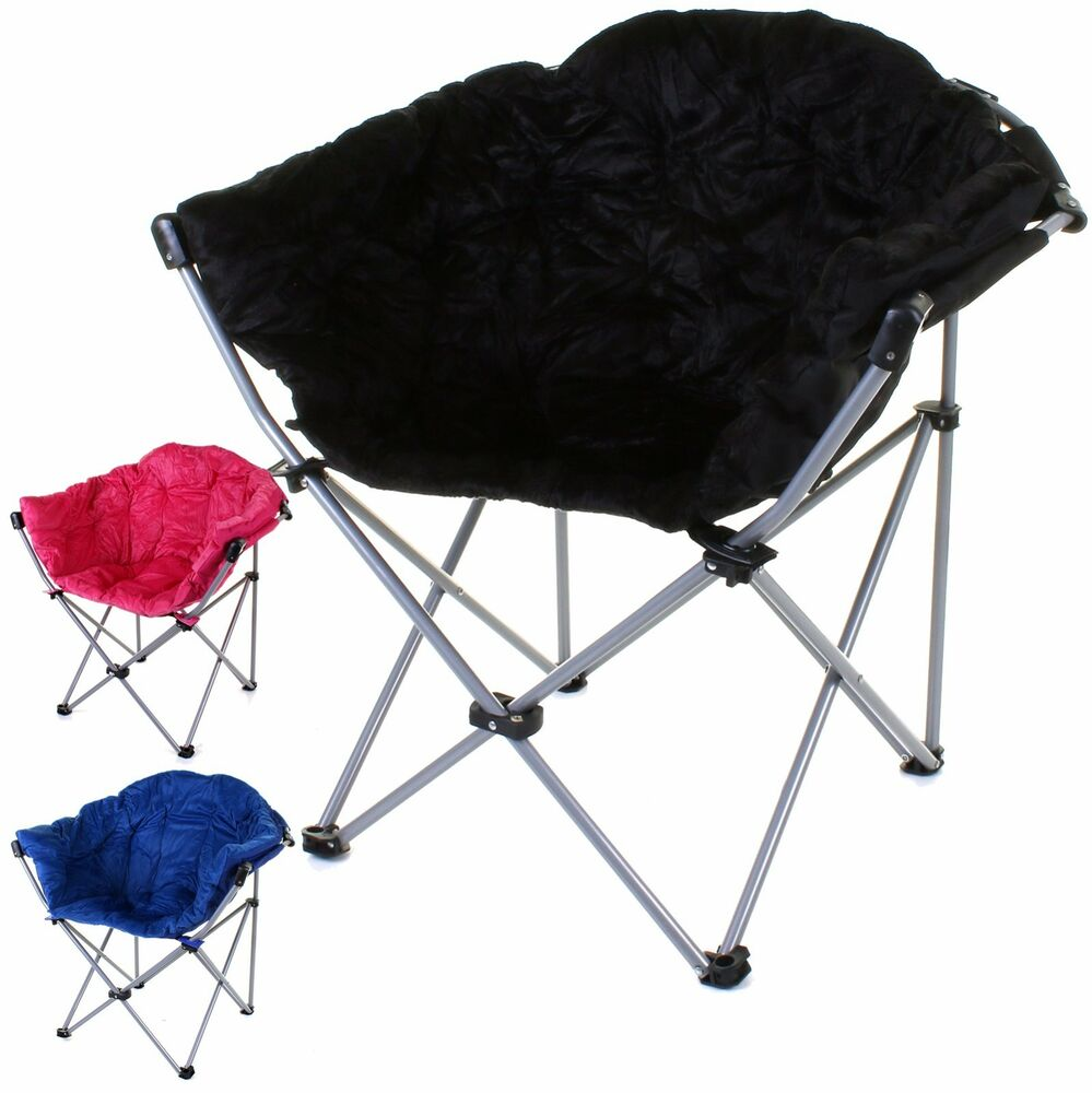 MOON CHAIR FOLDING CAMPING HIKING INDOOR OUTDOOR GARDEN FISHING FOLD FOLDABLE