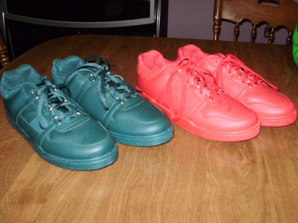 VINTAGE DEADSTOCK LOT OF 2 XJ900 SHOES RED OCTOBER dipped ...