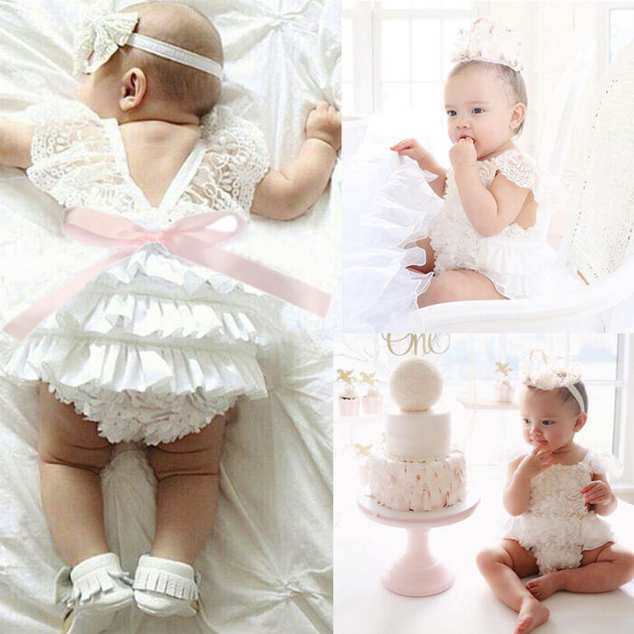 Baby Lace Christening Shoes
