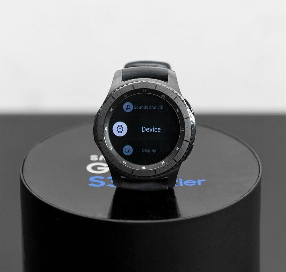 samsung galaxy gear s3 frontier smartwatch sm r760 smart watch ebay. Black Bedroom Furniture Sets. Home Design Ideas
