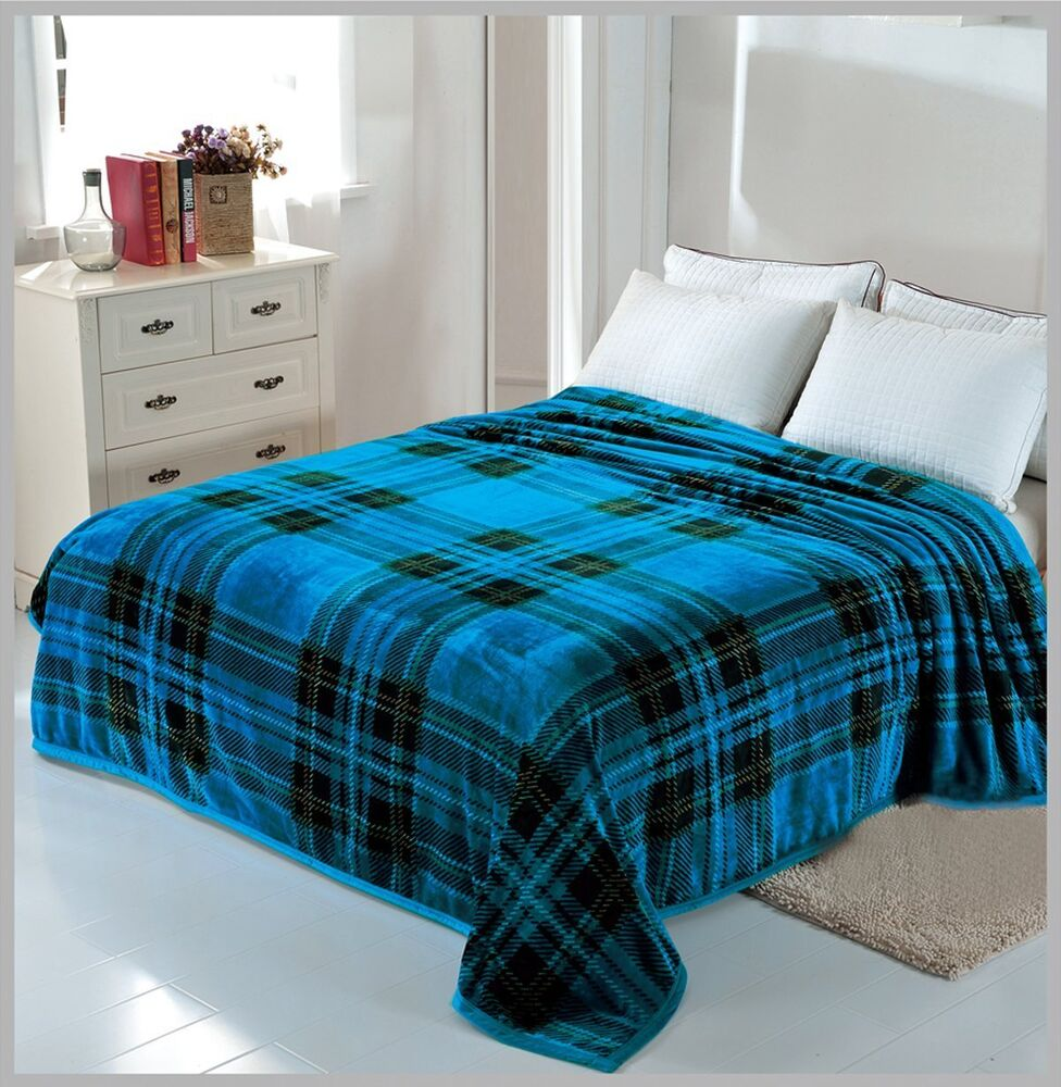 Solaron Korean Blanket Throw Mink Silky Soft King Size