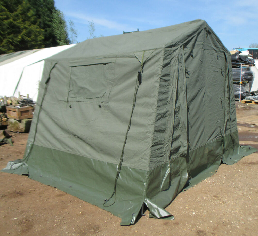 9x9 Bedroom: British Army 9x9 WOLF Land Rover Canvas Tent COMPLETE