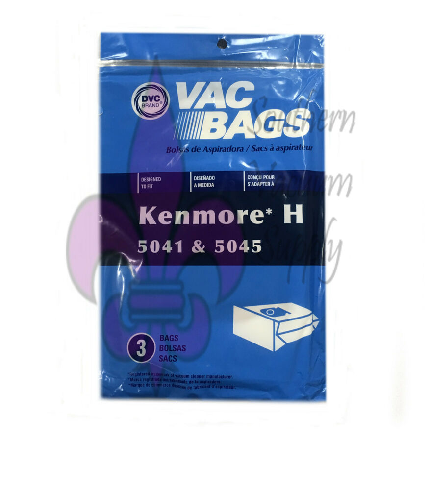 Kenmore Type H Canister Style Vacuum Bags For Models 5041 5045 20 Ebay