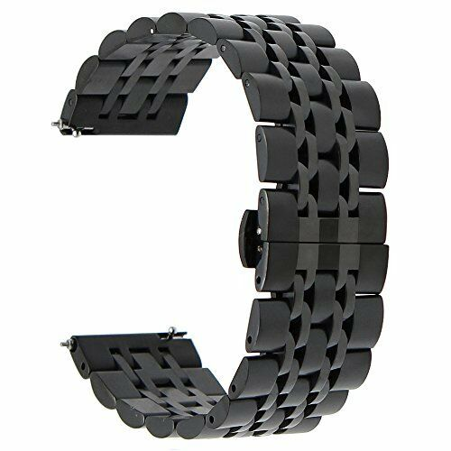 stainless steel bracelet band for samsung gear s3 classic frontier watch black 822450373967 ebay. Black Bedroom Furniture Sets. Home Design Ideas