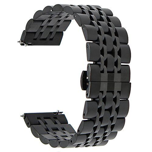 stainless steel bracelet band for samsung gear s3 classic frontier watch black ebay. Black Bedroom Furniture Sets. Home Design Ideas