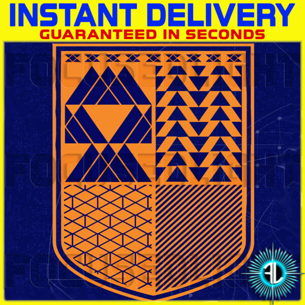 Royaume-UniDESTINY 1 Emblem UNION OF LIGHT + 50 FREE XP BOOST ~ INSTANT DELIVERY