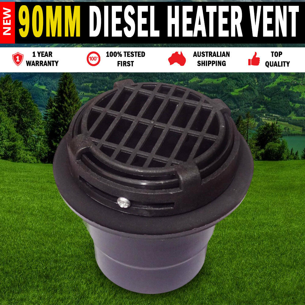 90mm Heater Vent Hot Amp Cold Air Vent For Diesel Heater