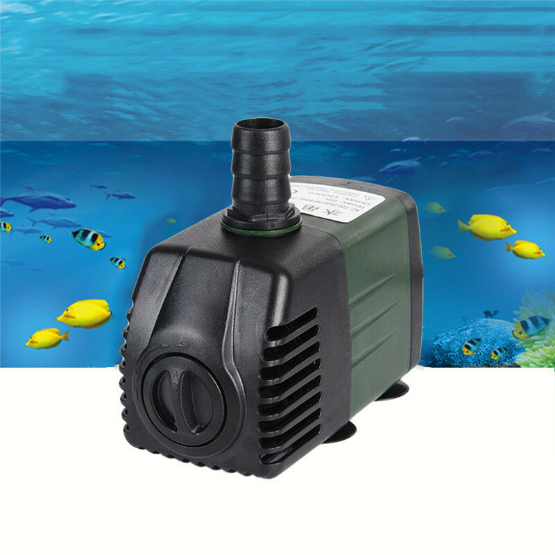 1200l h submersible pump aquarium fish tank fountain water for Fish water pump