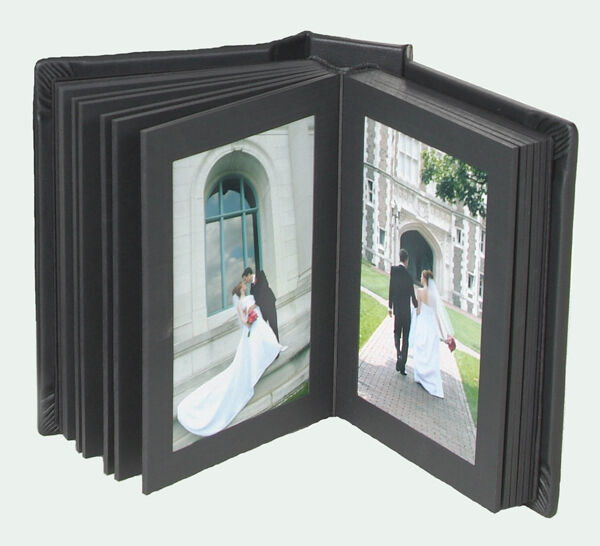 8x10 Wedding Albums: Professional Photo Album 4x6 Genuine Leather 12 Pages Slip