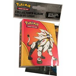 Pokemon TCG Sun & Moon Base Set Collector's Mini Album and Booster Pack