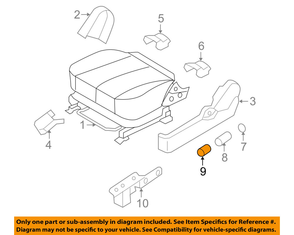 Hyundai Oem 08 10 Sonata Power Seat Switch 885210a002 Ebay 2010 Engine Diagram