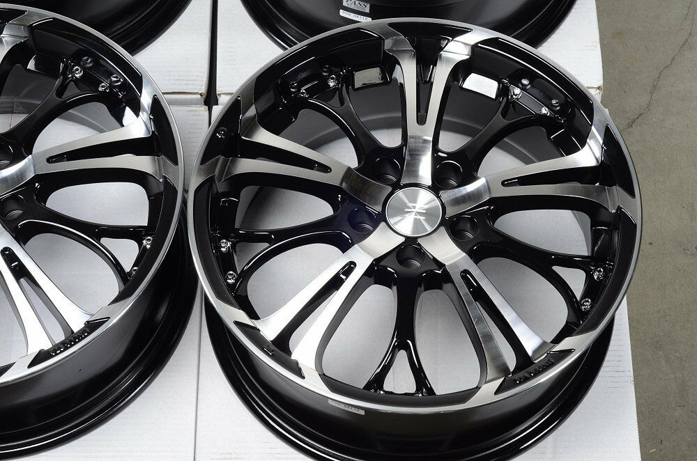 17 5x112 black rims fits mercedes benz s430 e320 e class