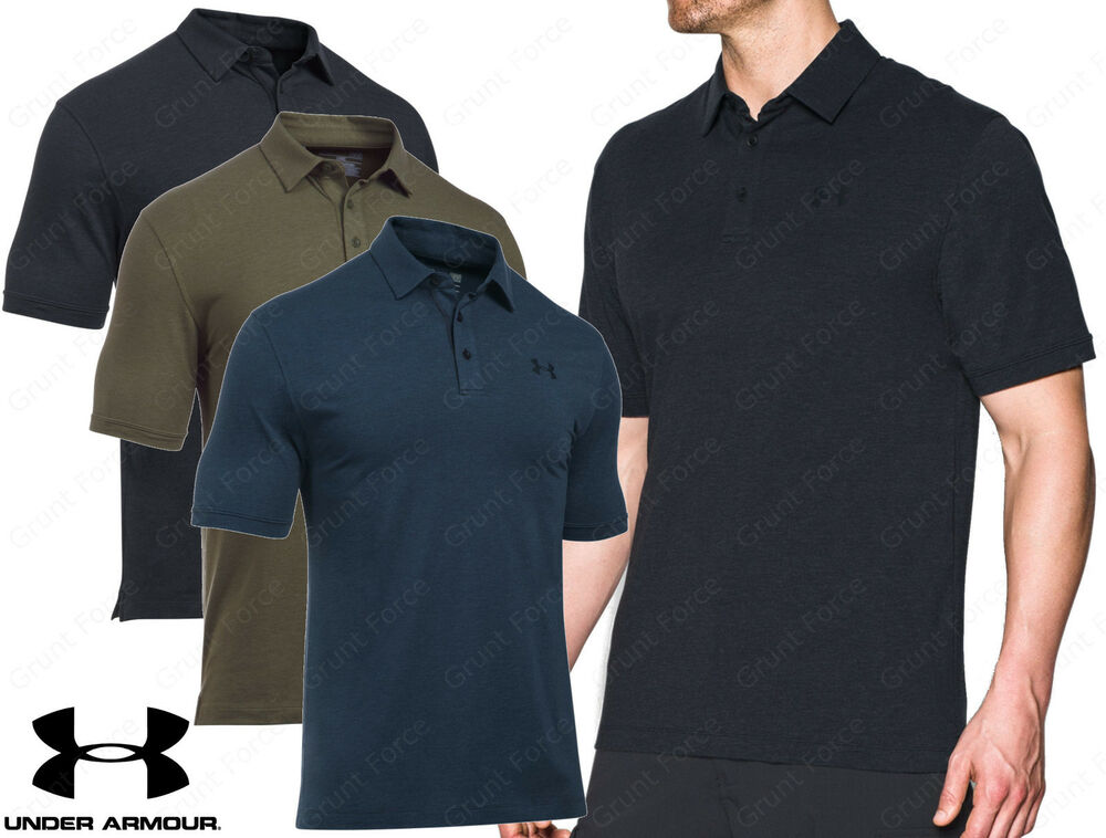 Under armour tactical charged cotton ua men 39 s tactical for Under armour 3xl polo shirts