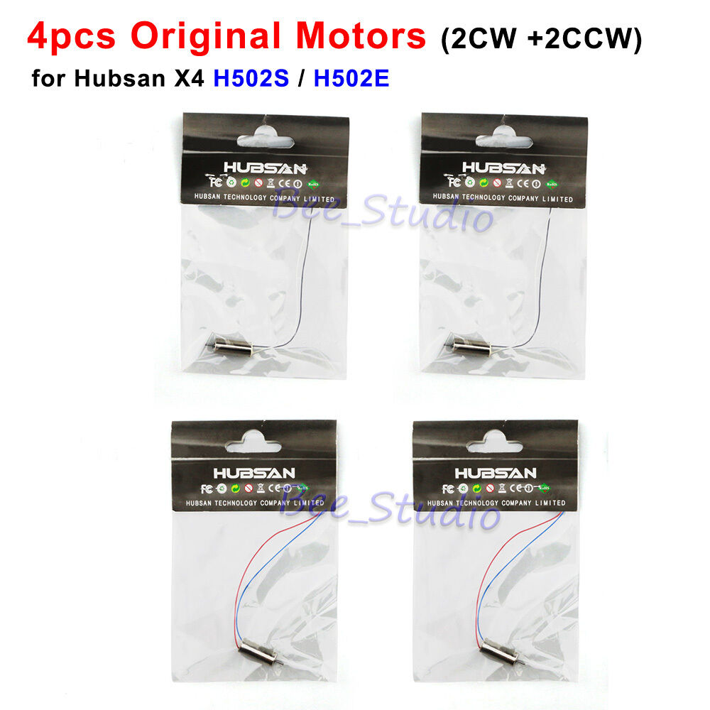 4pcs Original Cw Ccw Motor For Hubsan X4 H502s H502e Rc Quadcopter Wiring Diagram Spare Parts Ebay