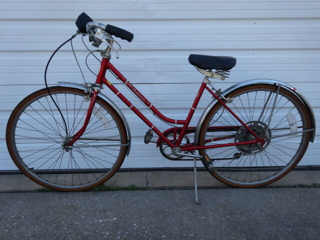 Vintage 1970s Old Schwinn Collegiate 5 Speed 17 Quot Women